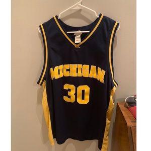 University of Michigan basketball  jersey